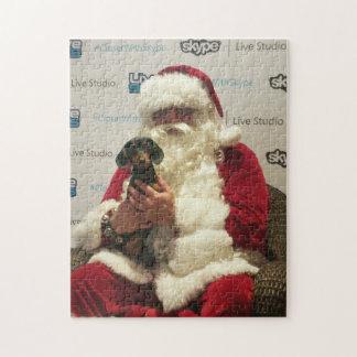 Puzzle El pequeño ayudante de Santa