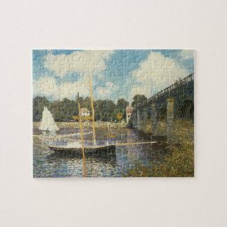 Puzzle El puente de la carretera en Argenteuil de Claude