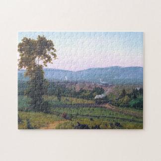 Puzzle El valle de Lackawanna de George Inness