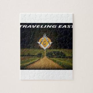 Puzzle El viajar al este