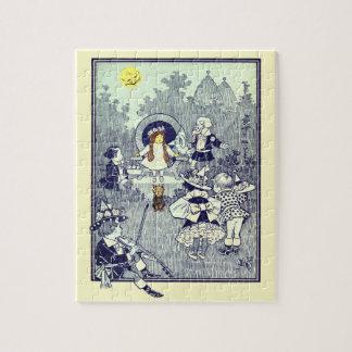 Puzzle El vintage mago de Oz, Dorothy resuelve el