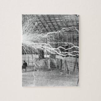 Puzzle Electricidad de Nikola Tesla