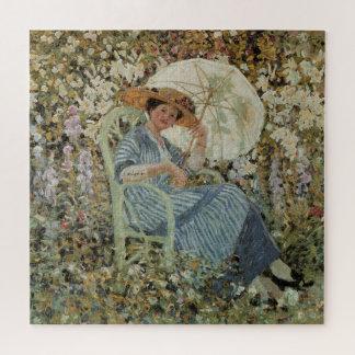 Puzzle En el jardín, Giverny de Frederick Frieseke