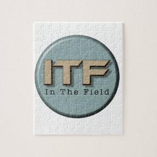 Puzzle En el logotipo de The Field