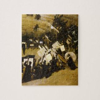 Puzzle Ensayo de la orquesta de Pasdeloup por Sargent