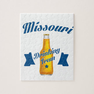 Puzzle Equipo de consumición de Missouri