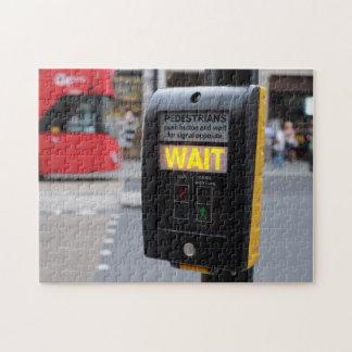 Puzzle Escena de la calle de Londres