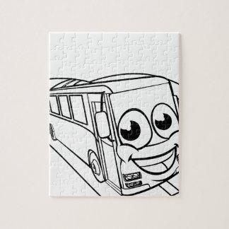 Puzzle Escena de la mascota del personaje de dibujos