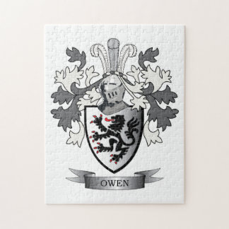 Puzzle Escudo de armas del escudo de la familia de Owen