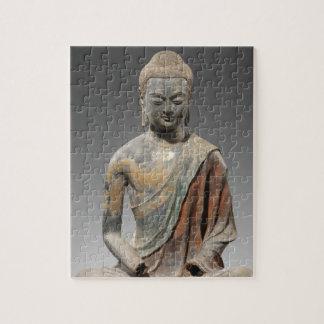 Puzzle Escultura decolorada de Buda - dinastía Tang (618)