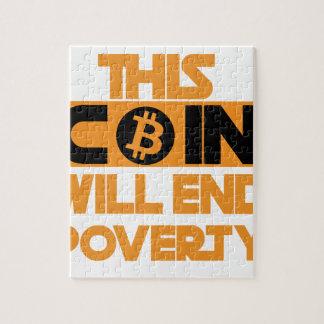 Puzzle Esta moneda terminará pobreza