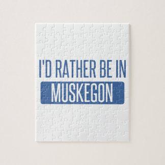 Puzzle Estaría bastante en Muskegon