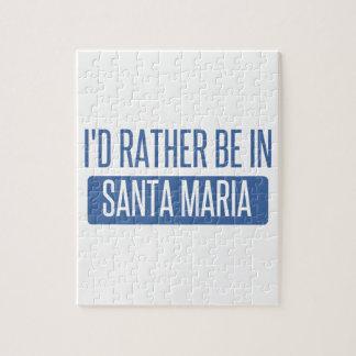 Puzzle Estaría bastante en Santa María