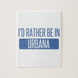 Puzzle Estaría bastante en Urbana