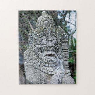 Puzzle Estatua de dios del Balinese