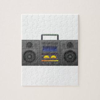 Puzzle estilo Boombox de Hip Hop de los años 80