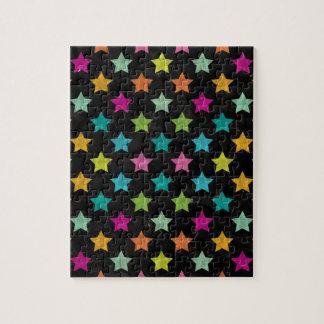 Puzzle Estrellas coloridas III