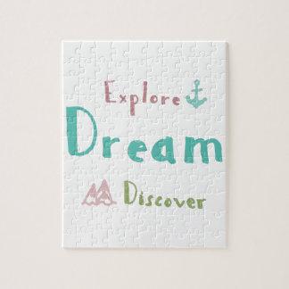 Puzzle Explore el sueño descubren