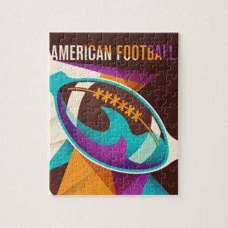 Puzzle Extracto de la bola del deporte del fútbol