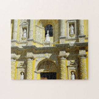 Puzzle Fachada del Barroco de Merced de la iglesia de