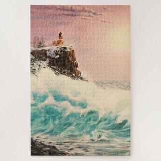 Puzzle Faro del invierno/pedazo septentrionales del
