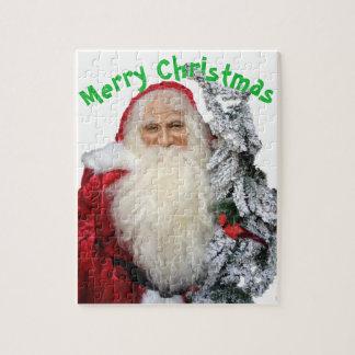 Puzzle Felices Navidad Papá Noel