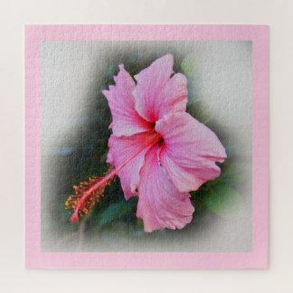 Puzzle Flor del hibisco