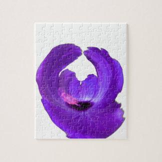 Puzzle Flor púrpura 201711h del extracto del hibisco