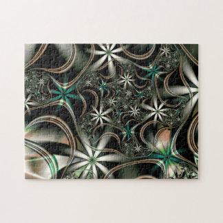 Puzzle Floraciones elegantes del fractal
