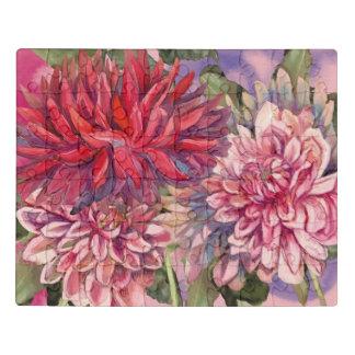 Puzzle flores de las dalias