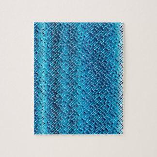 Puzzle Fondo del azul del dril de algodón