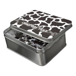 Puzzle Fondo del modelo de la vaca
