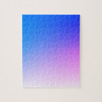 Puzzle Fondo urbano rosado púrpura - añada la foto