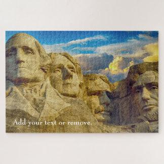 Puzzle Foto escénica: Monumento nacional del monte