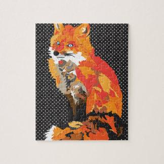 Puzzle Fox sofisticado