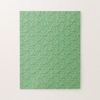 Puzzle Fractal-Estilo verde