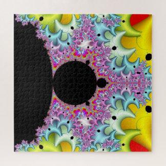 Puzzle Fractal Mandelbrot multicolor