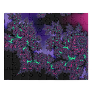 Puzzle Fractal oscuro de la locura de Mandelbrot