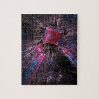 Puzzle Fractal rosado