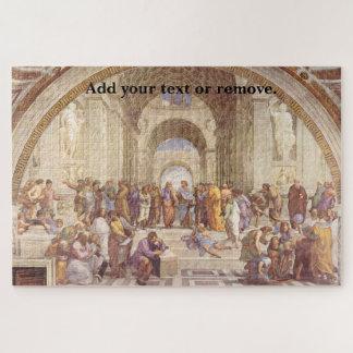 """Puzzle Fresco """"escuela del renacimiento de Atenas"""" por"""
