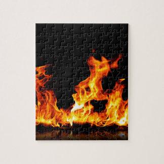 Puzzle fuego caliente