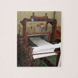 Puzzle Funcionamiento antiguo de la máquina del hilandero
