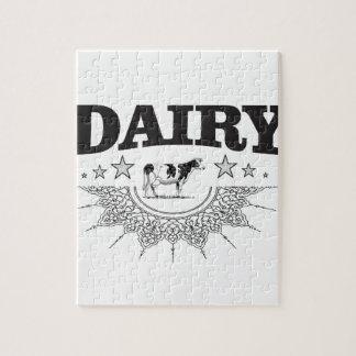Puzzle gloria de la lechería