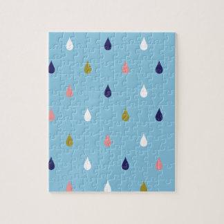 Puzzle Gotas de lluvia felices