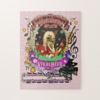 Puzzle Gran parodia animal de Vivaldi del compositor de