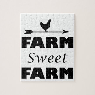 Puzzle granja del dulce de la granja