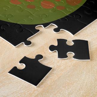 Puzzle Guayaba de la comida de la interferencia manchada