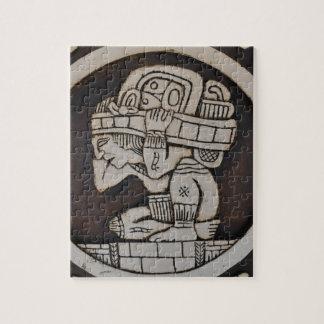 Puzzle Guerrero maya antiguo
