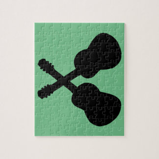 Puzzle guitarras negras