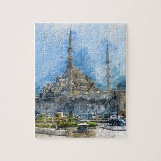 Puzzle Hagia Sophia en Estambul Turquía